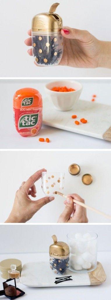 15 maneras ingeniosas de reutilizar las cajitas de Tic-Tac ¡No lo había pensado! | Vyv: Las imágenes y videos más interesantes de la red.