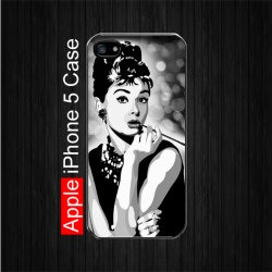 Audrey Hepburn #3 iPhone 5 Case. $22.5 Free shipping. #iPhone5Case #Celebrities #AudreyHepburn