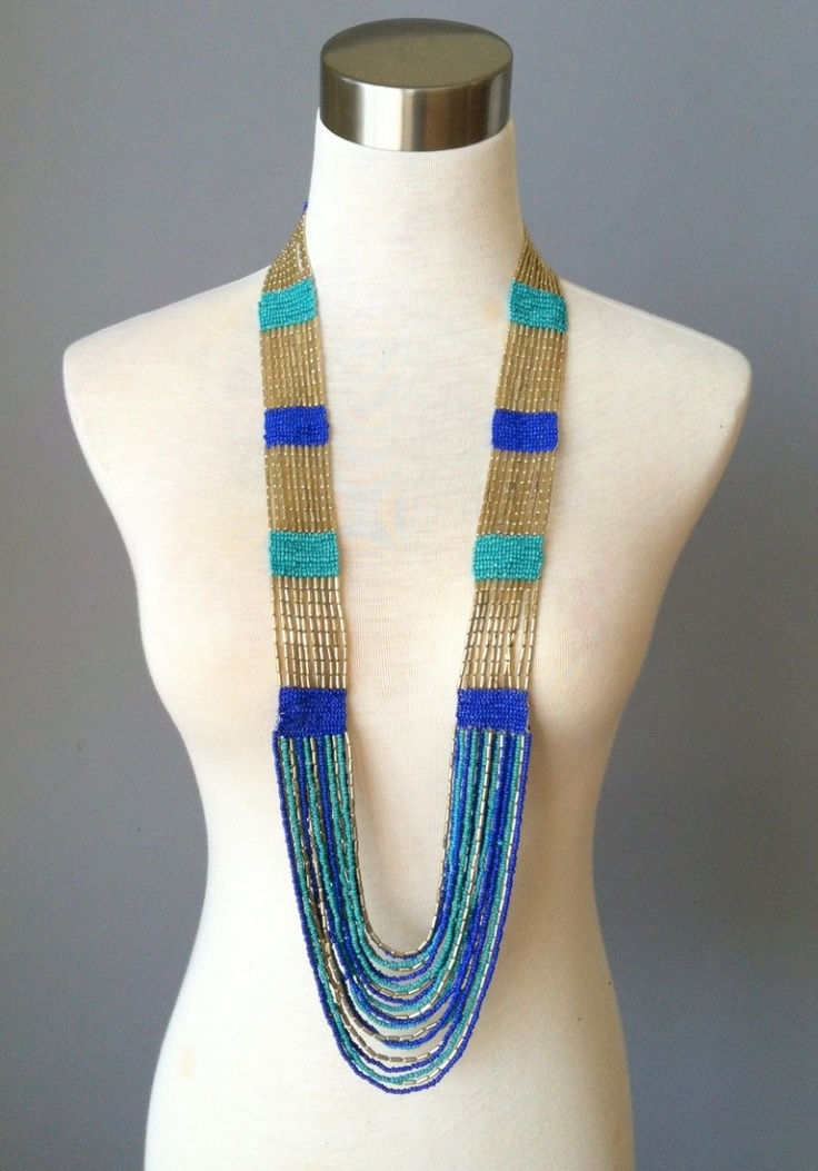 Cherokee Calling Necklace-Blue - Absolutely love Red Dress!!!