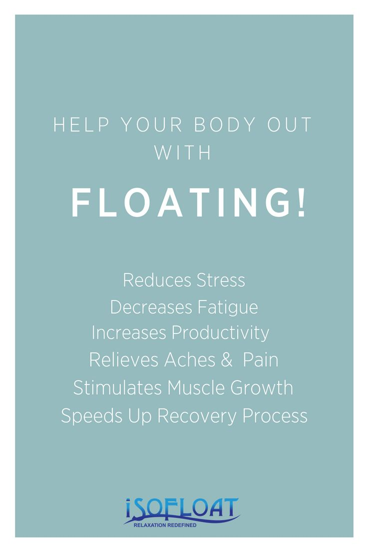 Float Therapy helps your mind & body in so many different aspects! It is known to help get better sleep, relieve soreness, help muscle growth & increase your productivity! #isofloatsa #floattherapy #floattank #epsomsalt #