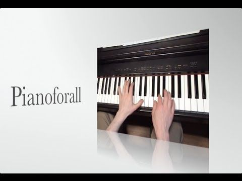 INGENIOUS way to learn Piano & Keyboard chords - 200 video piano lessons - YouTube