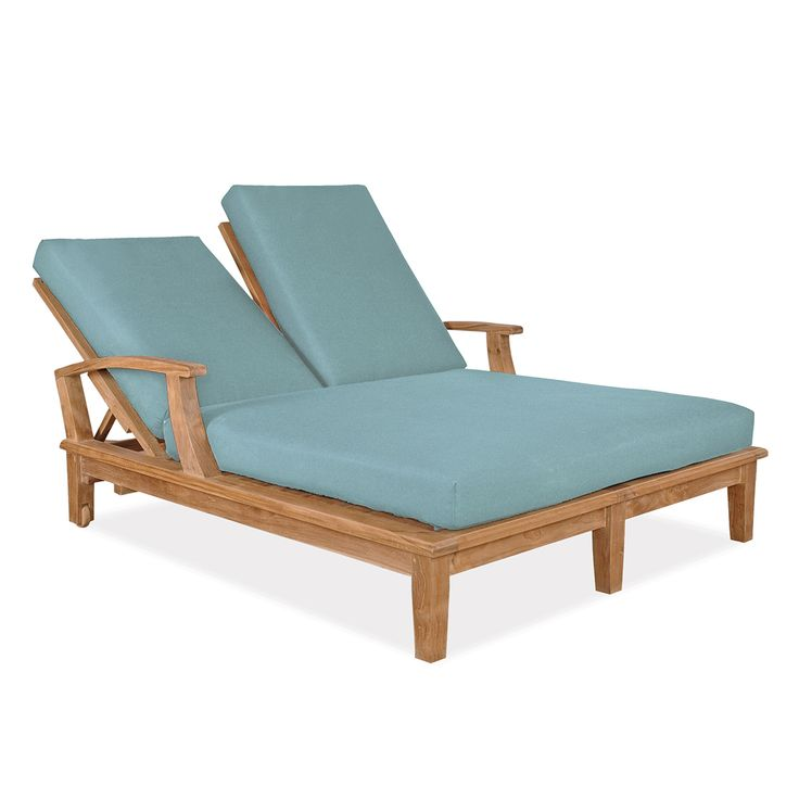 Veranda Double Loungers From Thos Baker . Wooo Imagine Our Outdoor Fabrics  On This!