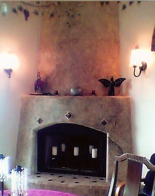 13 best Kiva images on Pinterest | Haciendas, Outdoor fireplaces ...