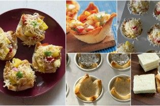 Tartlets can be made using bread slices which can be made quickly. It can be served with many different fillings for a wonderful starter or snacks. It's a great for bachelors, working women, busy moms and the kids will like it too. For preparing bread tartlets all you need is : • 6 slices white or brown bread – •...  Read More
