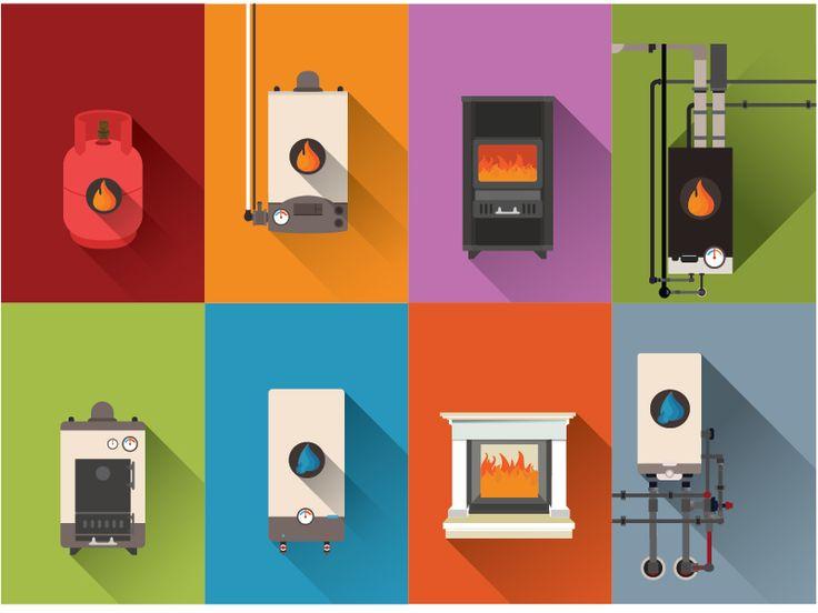 Electric boiler,fireplace,Stove by Kubanek Csaba