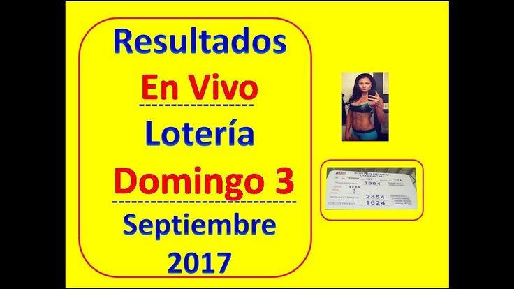 Resultados En Vivo Sorteo Domingo 3 Septiembre 2017 Loteria Nacional Panama Numeros 3 de Septiembre