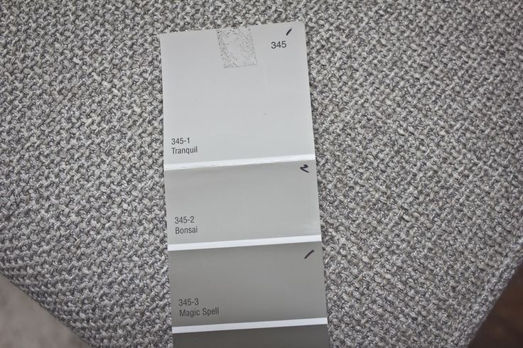 top color is our kitchen, the middle swatch is the living room, and the bottom is the dining nook and entryway.