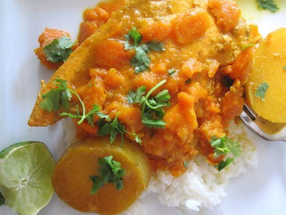 Pollo Sudado con Zanahoria (Chicken with Carrot Sauce)