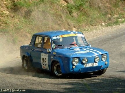 renault r8 gordini rally auto pinterest. Black Bedroom Furniture Sets. Home Design Ideas