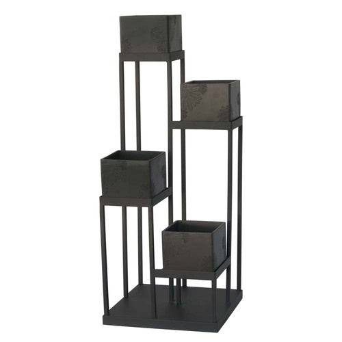 Modern Planters Cement Planter Stand With 4 6 Pots 35 H