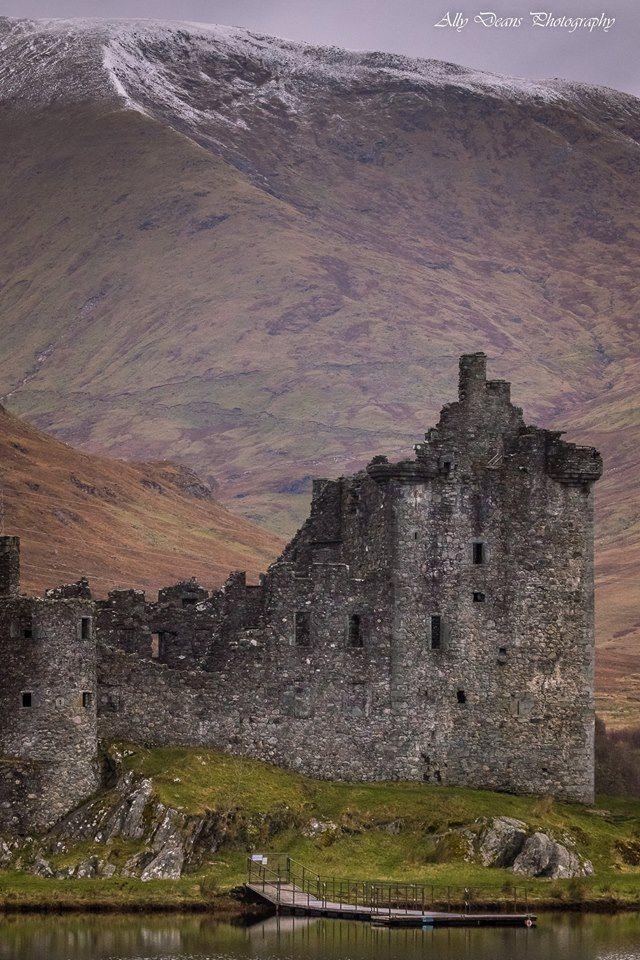 Kilchurn Castle, Loch Awe in Argyll, Scotland