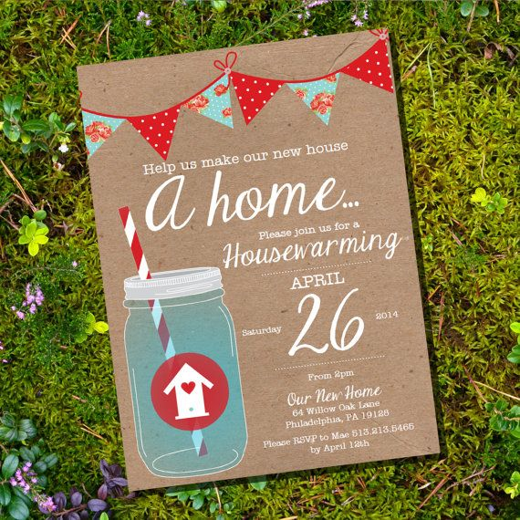 65 best images about house warming party on pinterest | ice cubes, Birthday invitations