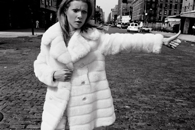 Anton Corbijn: Gwyneth Paltrow hitchhiking (1995), featured in the upcoming One Fine Day auction.