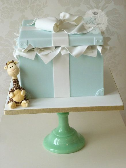Gift Box Birthday Cake Cake by designercakecompany Baby ...