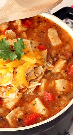 Tex-Mex Chicken and Rice SoupBoneless Chicken, Rice Soup, Food, Belle ...