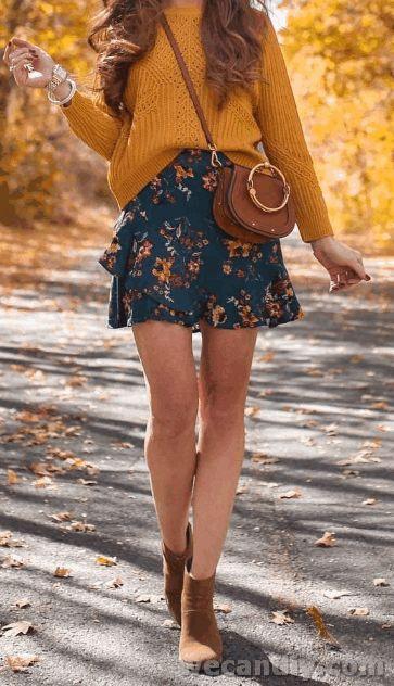 Unberechenbare Frauen fallen Outfits