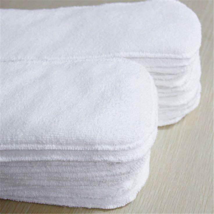 Многоразовые детские современные ткань пеленки подгузник крышка вкладыши вставляет 2 слоя бесплатная доставка