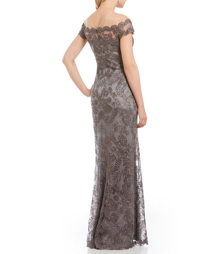 Shop for Tadashi Shoji Off-The-Shoulder Lace Gown at Dillards.com. Visit Dillards.com to find clothing, accessories, shoes, cosmetics & more. The Style of Your Life.
