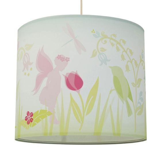 Anna Wand Lampenschirm Blumen & Feen Ø 40cm bei Fantasyroom online kaufen