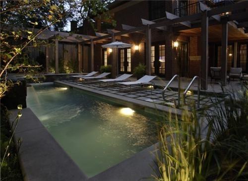 Small Swimming Pool  Swimming Pool  The Garden Consultants  Northfield, IL