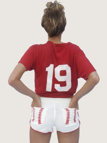 game day fashion, could change the pockets for different sports! So Cute!
