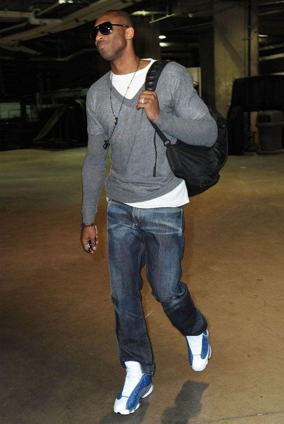 Kobe Bryant   Air Jordan XIII Flint