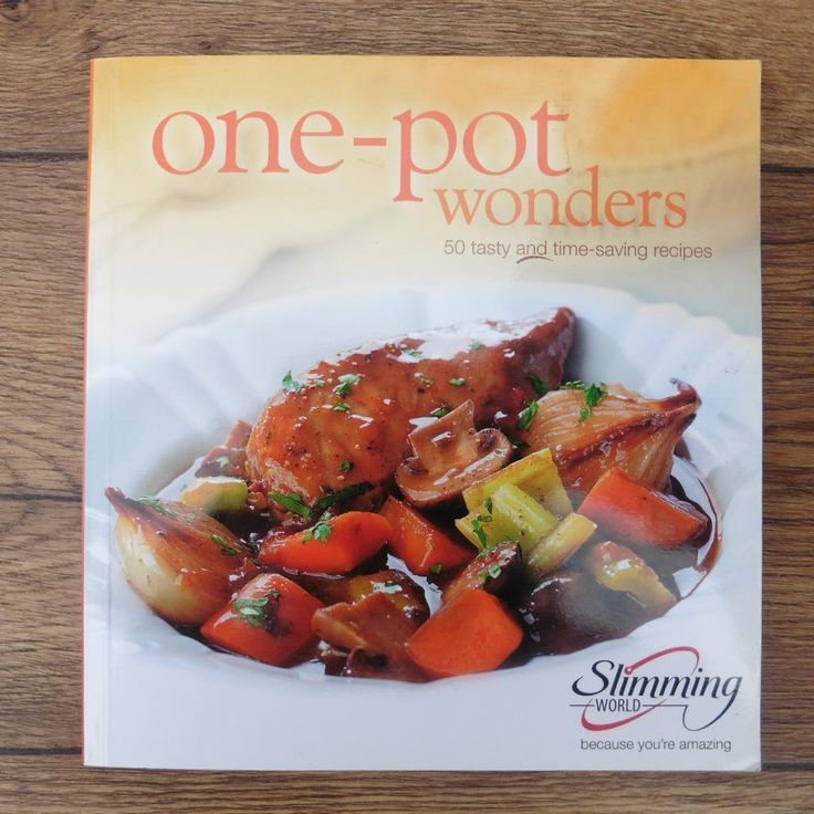SLIMMING WORLD ONE-POT WONDERS COOKERY BOOK COOK BOOK DIET RECIPE BOOK | eBay