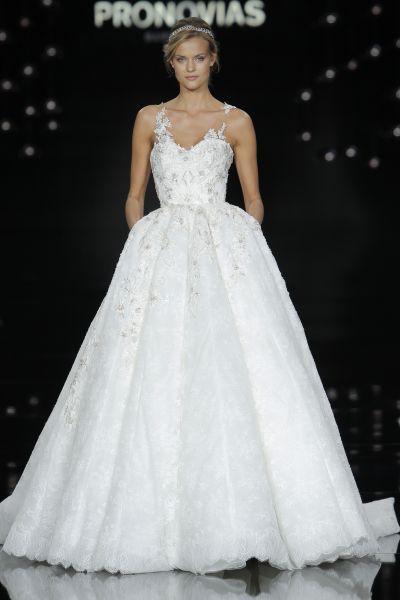 60 vestidos de novia corte princesa 2017 que querrás lucir ¡Elige el tuyo! Image: 47