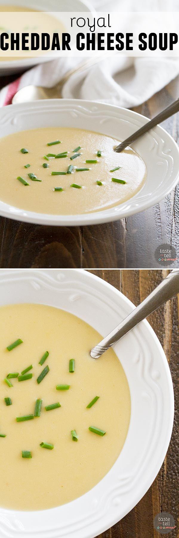 Eat like those on Downton Abbey with this silky smooth Royal Cheddar Cheese Soup. During the Edwardian era, this soup would be served whenever there were special guests present.