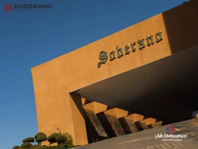 HOTEL SOBERANO CHIHUAHUA, es un hotel de negocios y placer en la zona norte de la ciudad. Contamos con 204 amplias habitaciones de lujo y master suites, nuestras instalaciones cuentan con alberca, canchas de tenis y raquetbol, gimnasio, restaurantes y bares, spa, tabaquería y centro de negocios, diseñados para satisfacer todas sus necesidades. Estamos en Barranca del Cobre #3211, Fraccionamiento Barrancas en la ciudad de Chihuahua. Informes y reservaciones al teléfono (614) 429 2929…