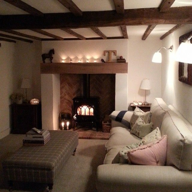 What a cosy country living room! If you like this, why not head on over to http://www.TheHomeDesignSchool.com/signup for more modern country design inspiration, plus get FREE access to our home design resource library.