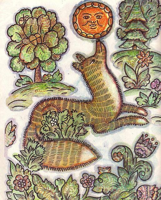 Illustration to Russian folk tale Kolobok by Igor & Kseniya Yershov | Flickr - Photo Sharing!