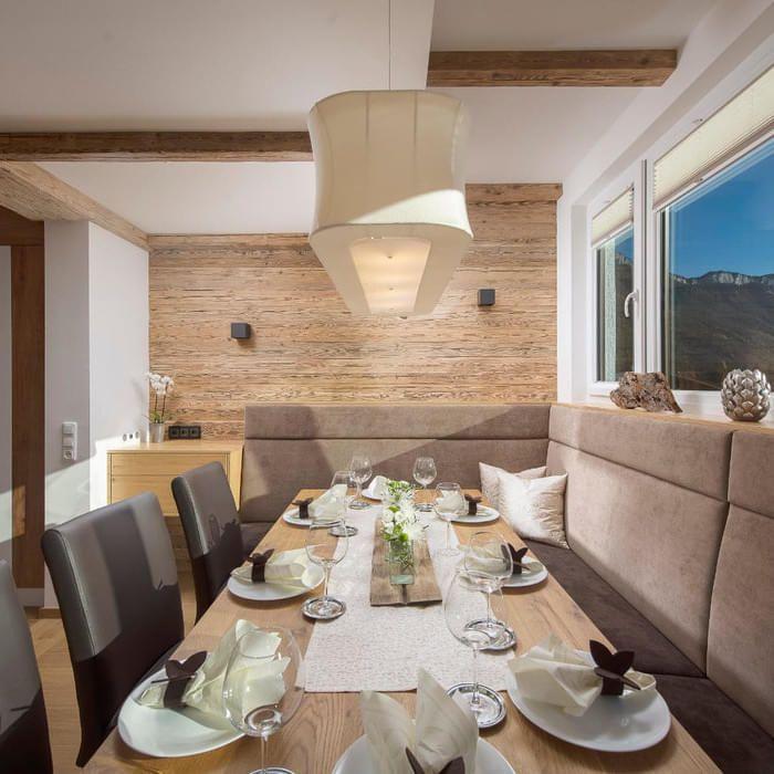 22 Wohnzimmer mit essbereich landhausstil