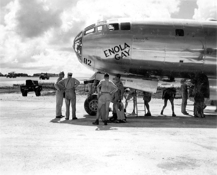 from Mitchell enola gay named for