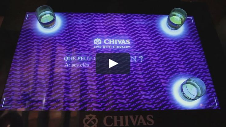 Microsoft PixelSense Table offering an interactive social Quiz reflecting the brand values. A brand activation campaign that achieves its goals and where friends…
