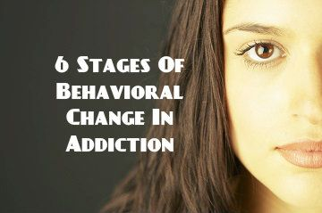 Learn the 6 stages of sustaining behavioral change when going through addiction and addiction recovery. You are not alone in your addiction - Recovery is possible!