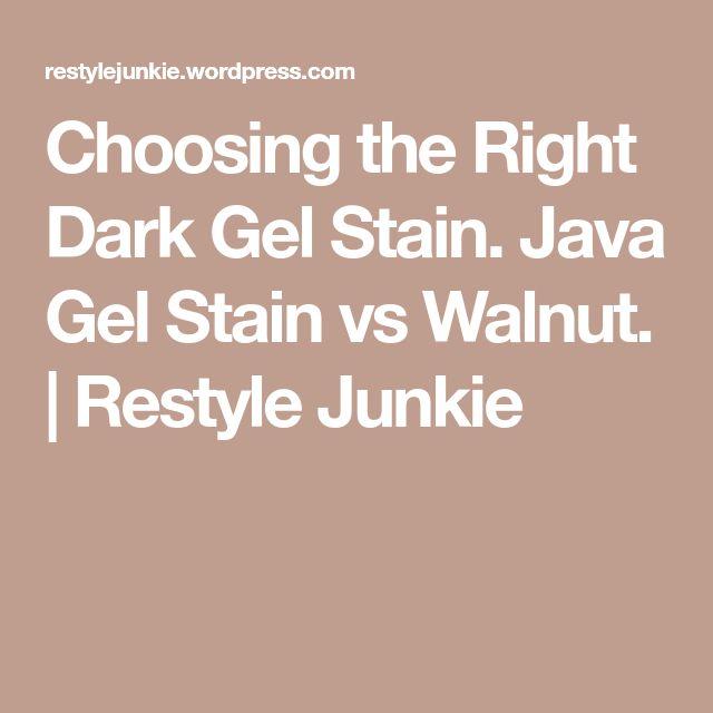 Best 25+ Java Gel Stains Ideas On Pinterest