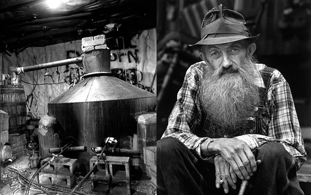"'Legendary Appalachian distiller Marvin ""Popcorn"" Sutton evades the law one last time', from the sad tale, 'Death of a Moonshiner', read the story here …"