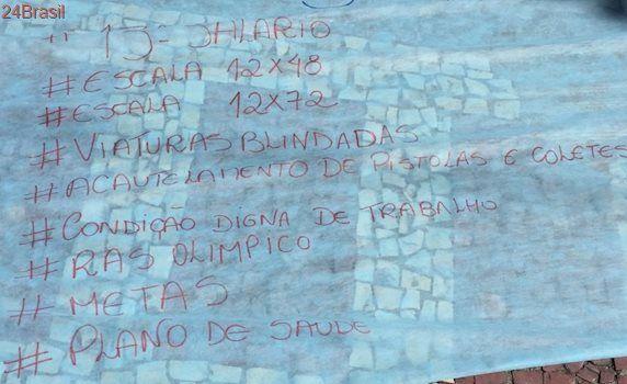 Elas não querem aumento de salário: O que exigem as famílias que ameaçam parar a Polícia Militar do Rio