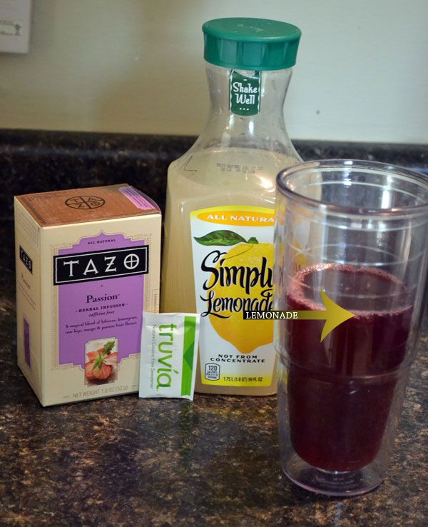 how to make starbucks passion tea lemonade at home