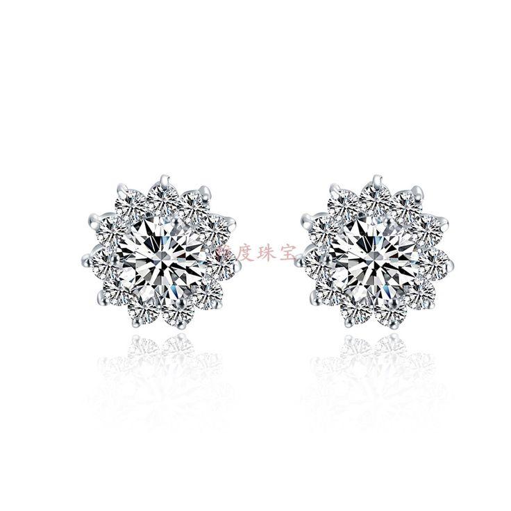 27 best Synthetic Diamond Earrings images on Pinterest ...