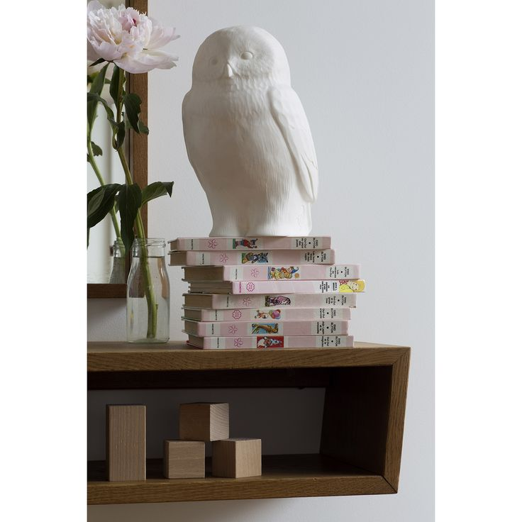 Lampe veilleuse hibou Akira the Owl blanc : Goodnight light