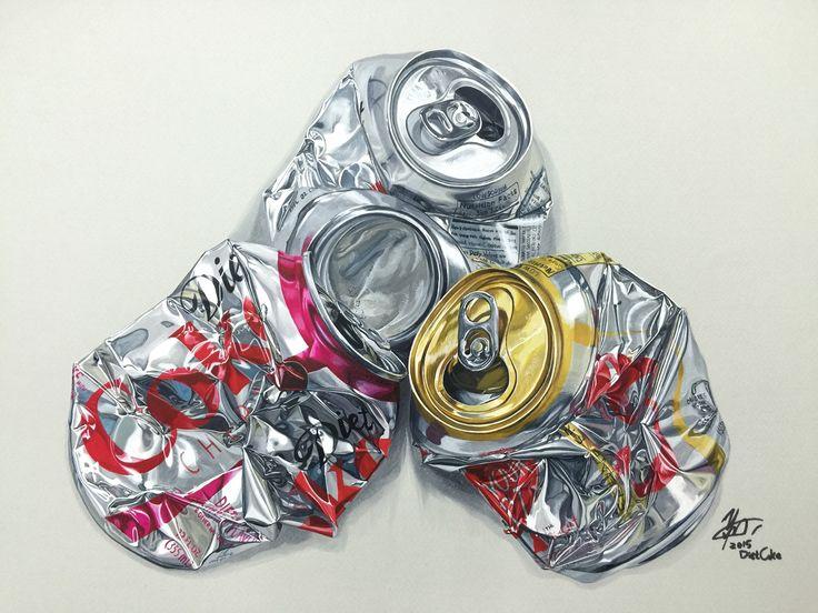#Hyperrealism#Crushedcan#Aluminumcan#PosterColor#Coloredpencil#Pencils#Marker#Watercolor#Painting#Art#Artist#Illustration#Illustrations#Creative#캔#포스터컬러#수채화#색연필#마카#일러스트#일러스트레이션