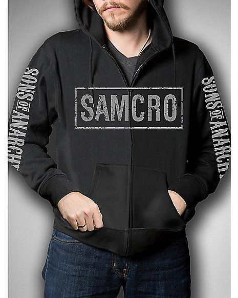 Sons of Anarchy Samcro Hoodie - Spencer's