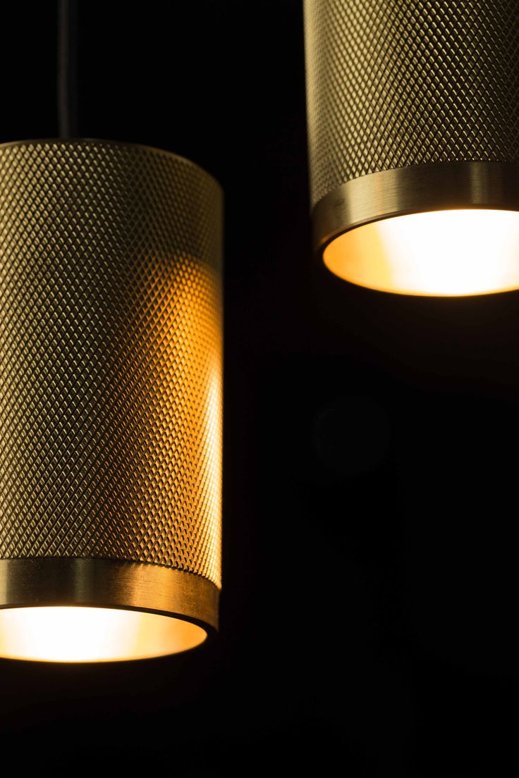 Brass Adamas Pendant Lights.
