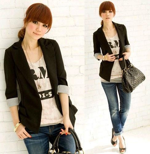 Collection Women S Casual Blazers Jackets Pictures - Reikian