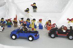 Mountain stage at the Lego Tour de France (Tom Cuppens) Tags: france de toys tour lego frankrijk van eddy jouets speelgoed ronde merckx molteni