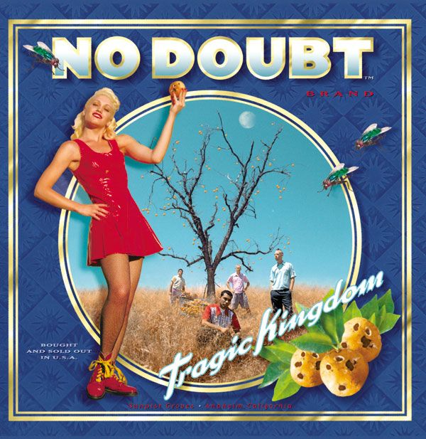The first CD I ever bought!  Oh nostalgia.  No Doubt - Tragic Kingdom