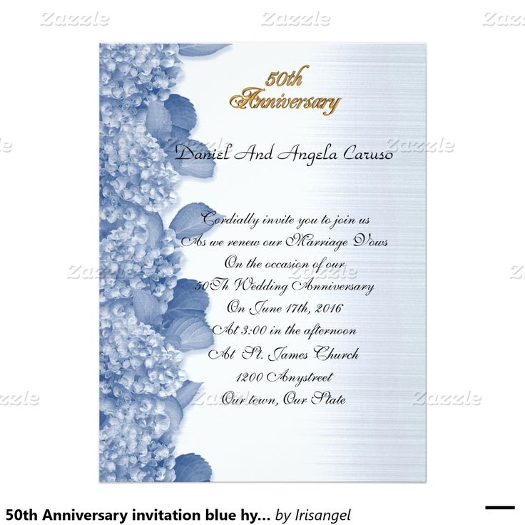 108 Best Images About 50th Wedding Anniversary Invitations Customized On Pinterest