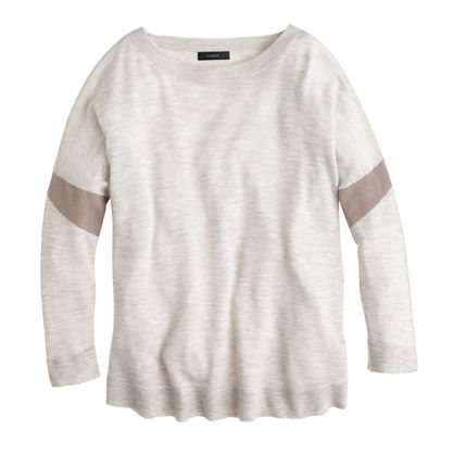 Collection featherweight cashmere armband sweater